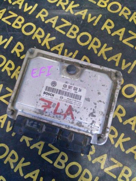 Блок управления efi Volkswagen Touareg 7LA AXQ