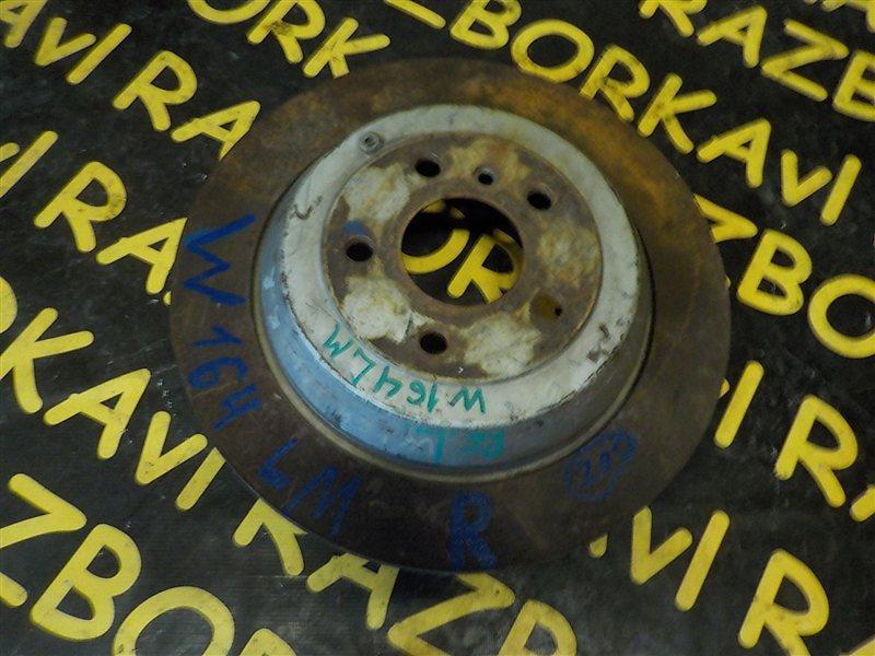 Тормозной диск Mercedes Benz Ml500 W164 273 2006 задний левый