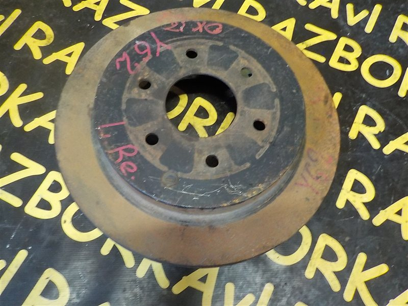 Тормозной диск Nissan Patrol Y62 VK56VD 2010 задний правый