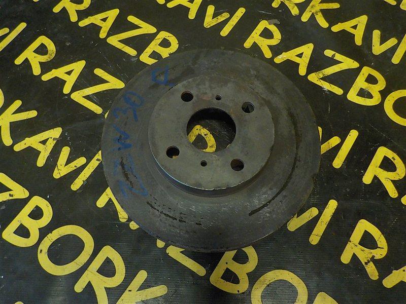 Тормозной диск Toyota Mr-S ZZW30 1ZZFE 2001 передний правый