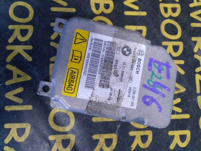 Блок управления airbag Bmw 3-Series E46 M52 1998