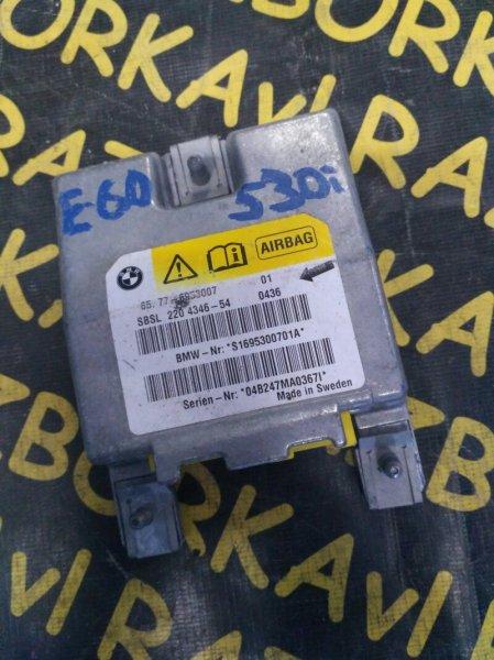 Блок управления airbag Bmw 530 E60 M54 2005