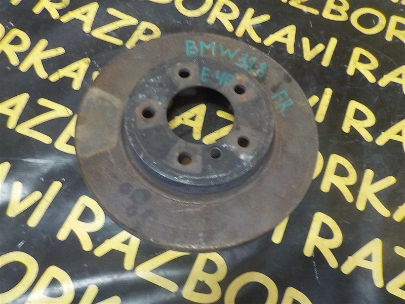 Тормозной диск Bmw 3-Series E46 M52 1998 передний левый
