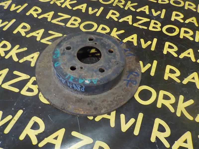 Тормозной диск Toyota Rav4 ACA31 2AZFE 2007 задний правый