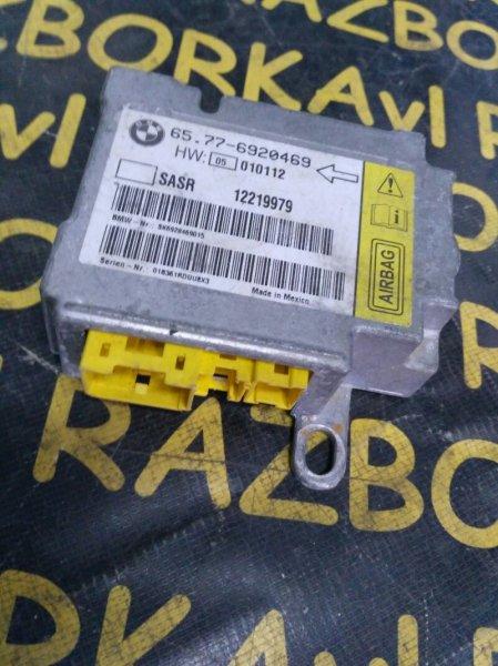 Блок управления airbag Bmw 745 E65 N62B44 2002 передний правый