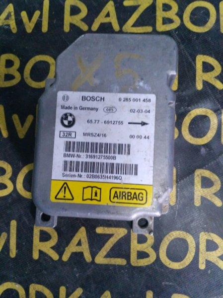 Блок управления airbag Bmw X5 E53 M54 2000