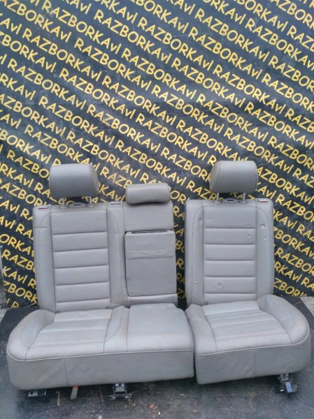 Сидение Volkswagen Touareg 7LA AXQ 2005 заднее