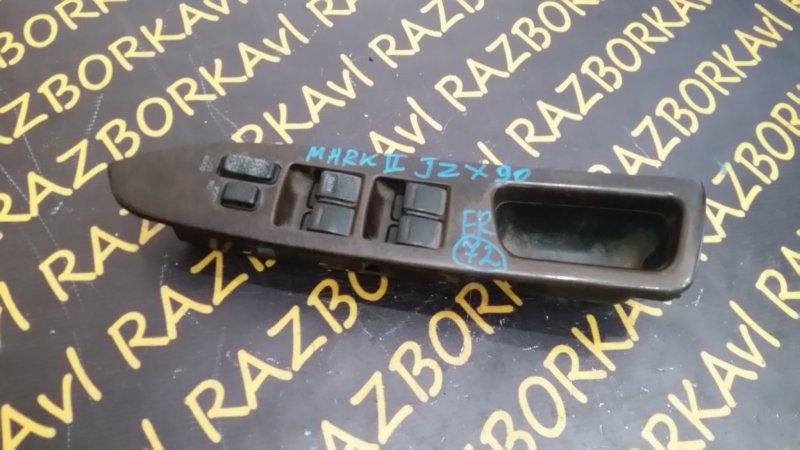 Пульт стеклоподъемника Toyota Markii GX90 передний правый