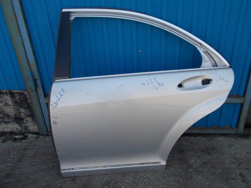 Дверь Mercedes Benz S-Class W221 задняя левая