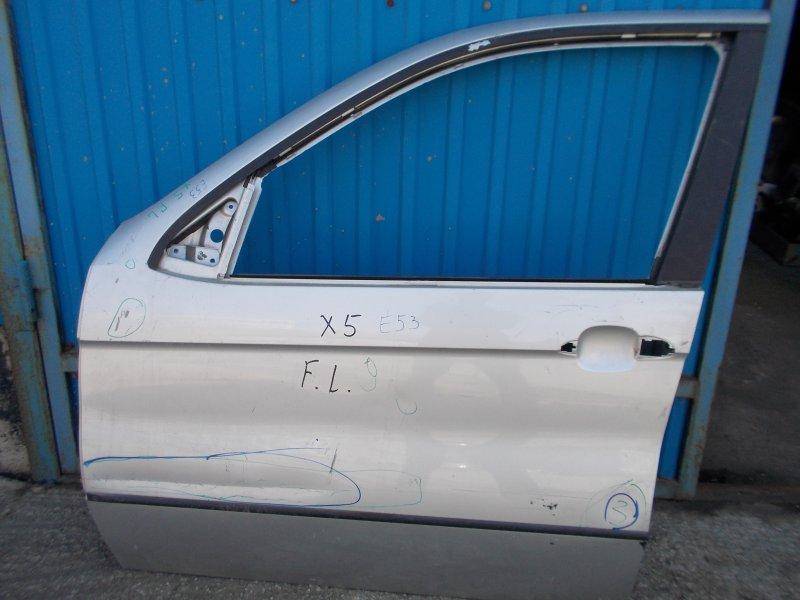 Дверь Bmw X5 E53 M54 2000 передняя левая