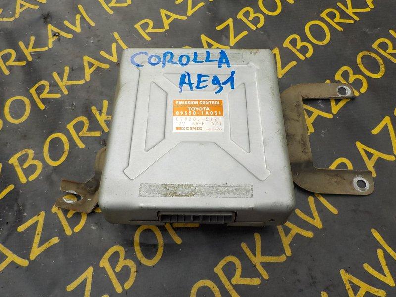 Блок управления efi Toyota Corolla AE91 5AF 1989