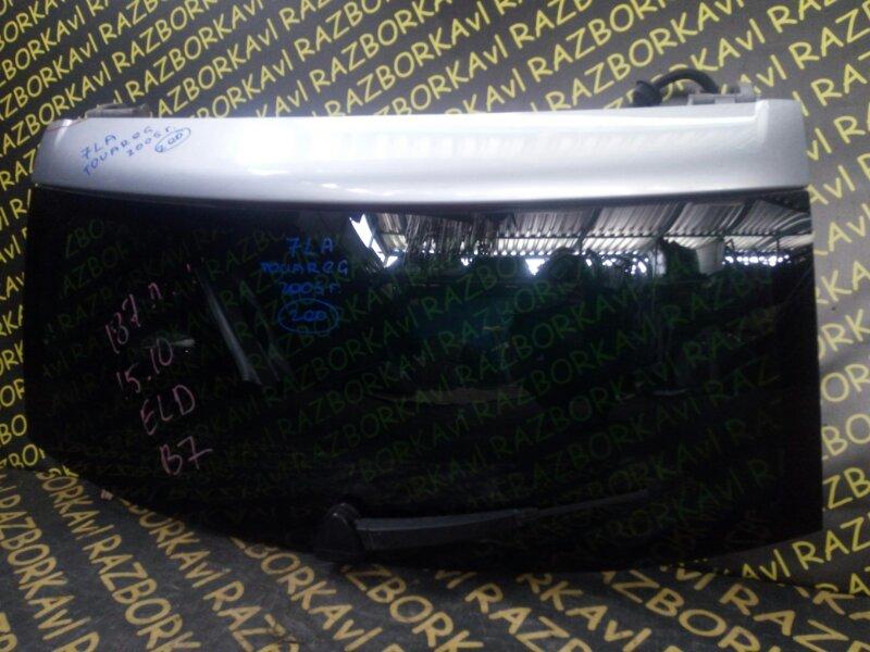 Стекло заднее Volkswagen Touareg 7LA AXQ 2005 заднее