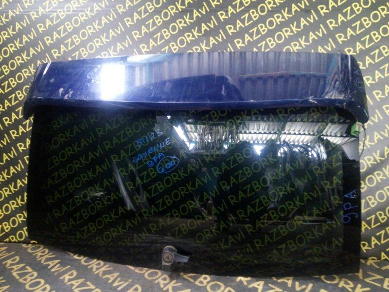 Стекло заднее Porsche Cayenne 9PA M48.00 2003 заднее