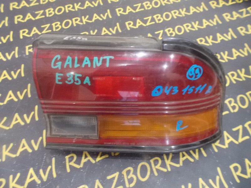 Стоп-сигнал Mitsubishi Galant E35A задний правый