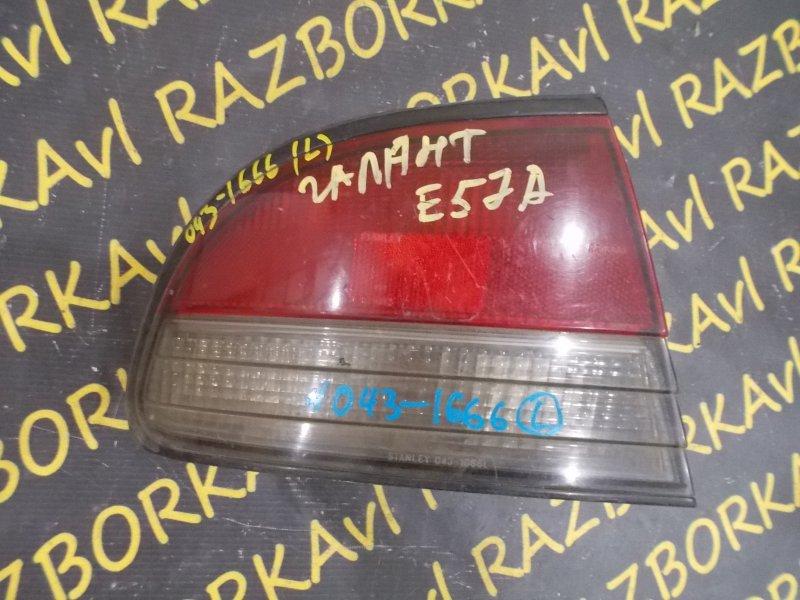 Стоп-сигнал Mitsubishi Galant E57A задний левый