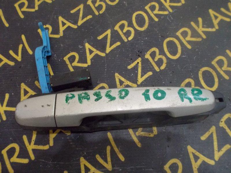 Ручка двери внешняя Toyota Passo KGC10 задняя правая