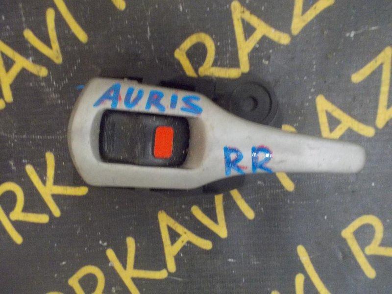 Ручка двери внутренняя Toyota Auris NZE151 задняя правая
