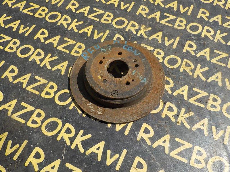 Тормозной диск Honda Cr-V RE3 K24A 2006 задний правый