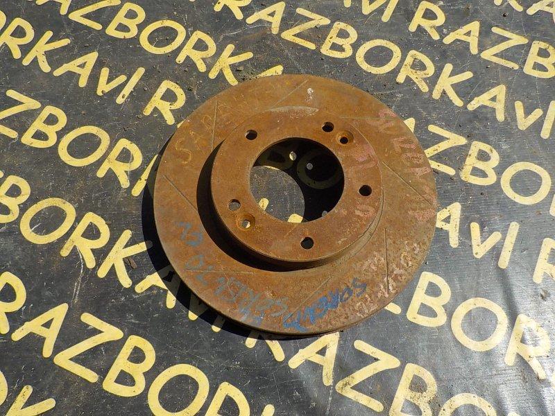Тормозной диск Kia Sorento BL 2002 передний правый