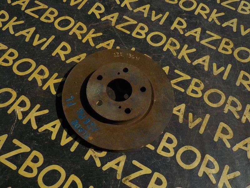 Тормозной диск Toyota Blade AZE154H 2AZFE передний левый
