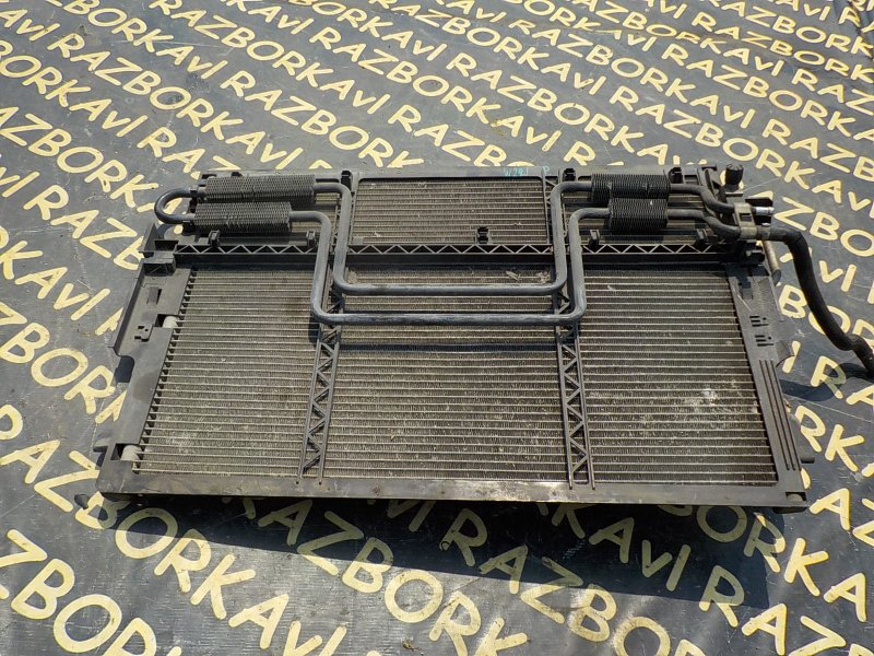 Радиатор кондиционера Mercedes Benz S550 W221 113