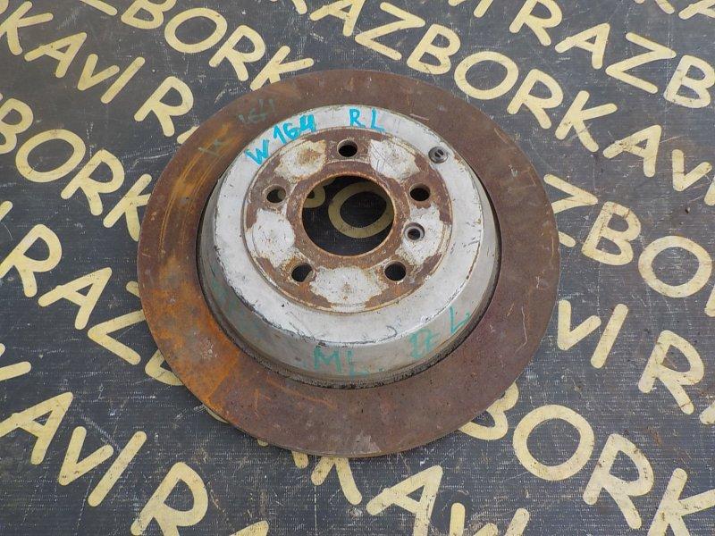 Тормозной диск Mercedes Benz Ml500 W164 273 2006 задний правый