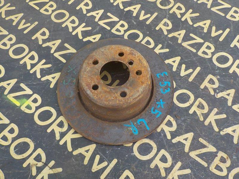 Тормозной диск Bmw X5 E53 M54 2000 задний правый