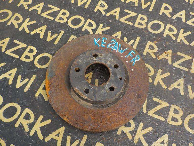 Тормозной диск Mazda Cx-5 KE5AW PEVPS 2012 передний правый