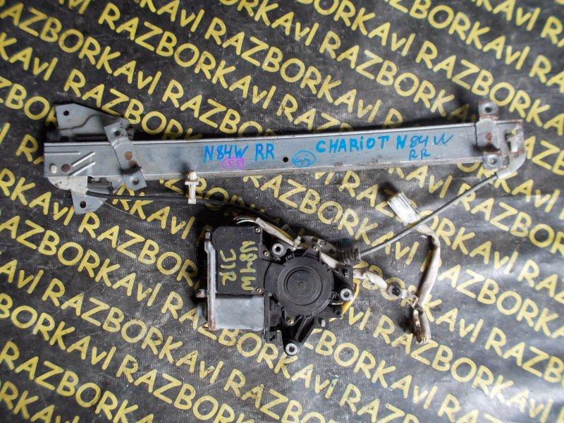 Стеклоподъемник Mitsubishi Chariot N84W задний правый