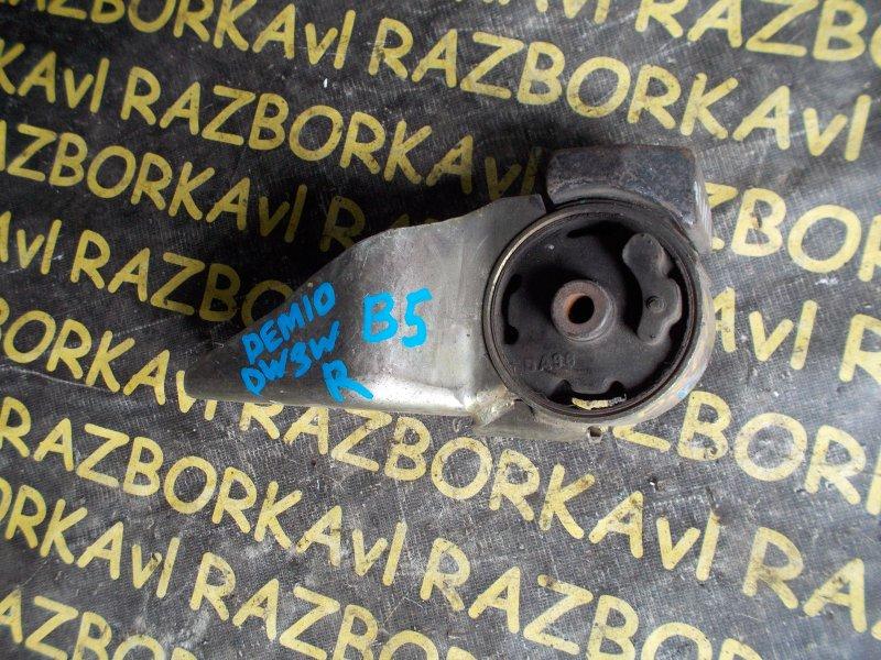 Подушка двигателя Mazda Demio DW3W B5 правая