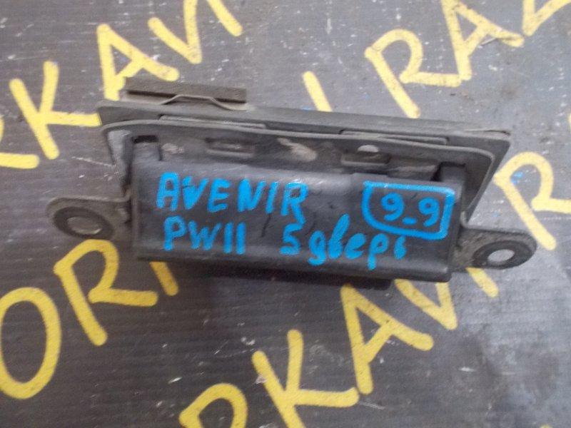 Ручка задней двери Nissan Avenir PW11 задняя