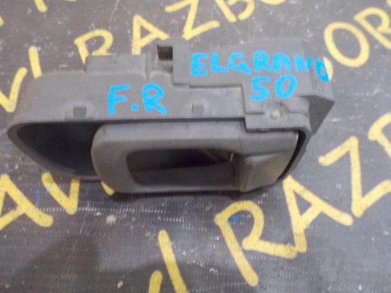 Ручка двери внутренняя Nissan Elgrand ALE50 VG33E 1997 передняя правая