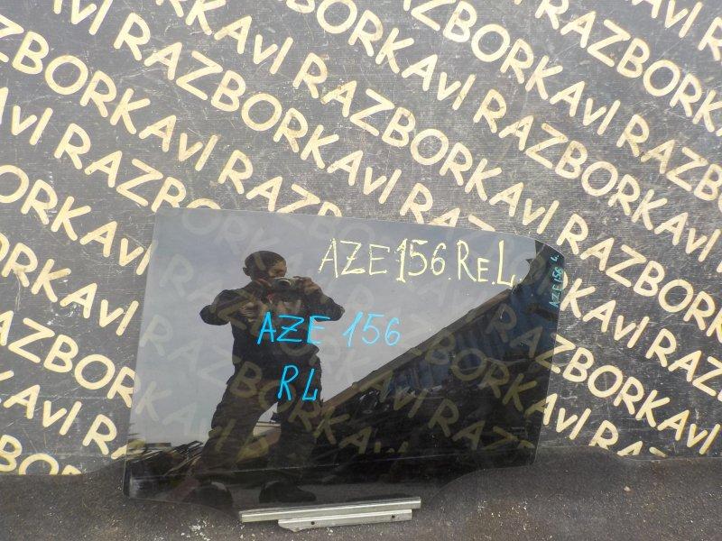 Стекло Toyota Blade AZE154H 2AZFE заднее левое