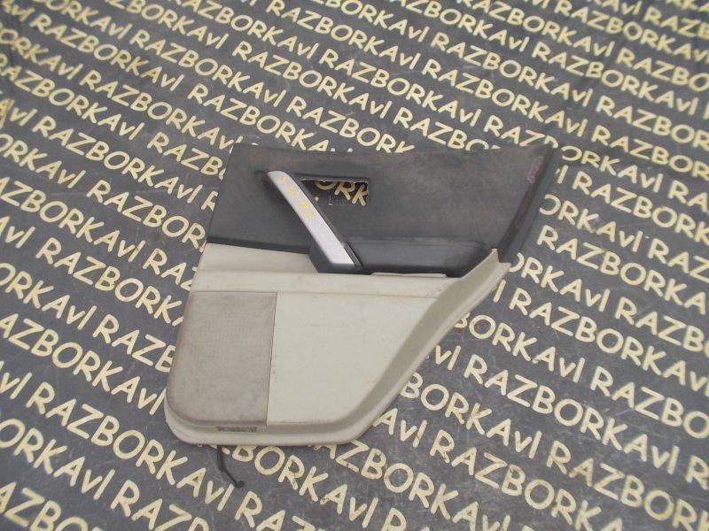 Обшивка дверей Infiniti Fx45 S50 VK45DE 2003 задняя правая