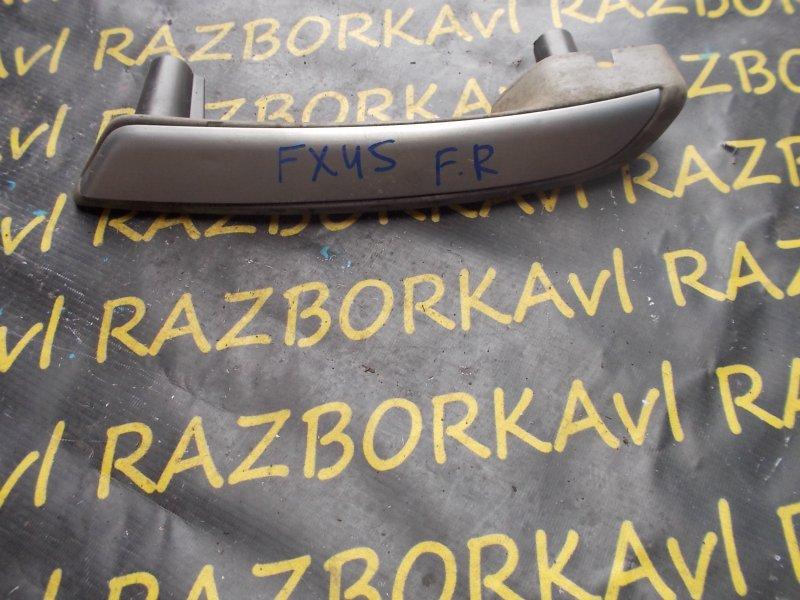 Ручка двери Infiniti Fx45 S50 VK45DE 2003 передняя правая