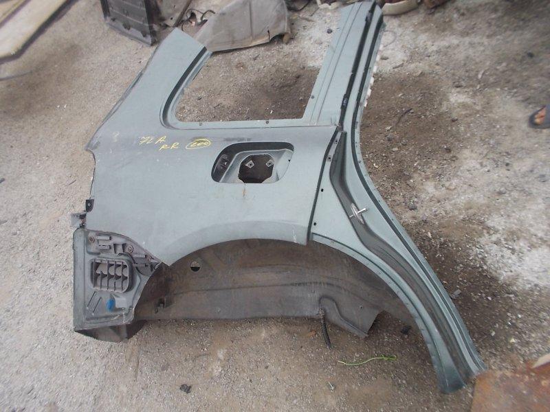 Крыло Volkswagen Touareg 7LA AXQ 2004 заднее правое