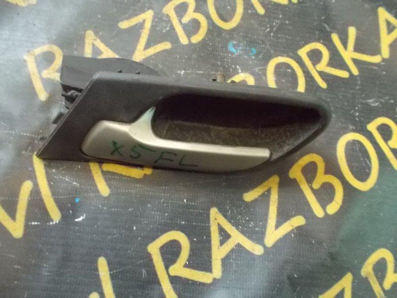 Ручка двери внутренняя Bmw X5 E53 M54 2000 передняя левая