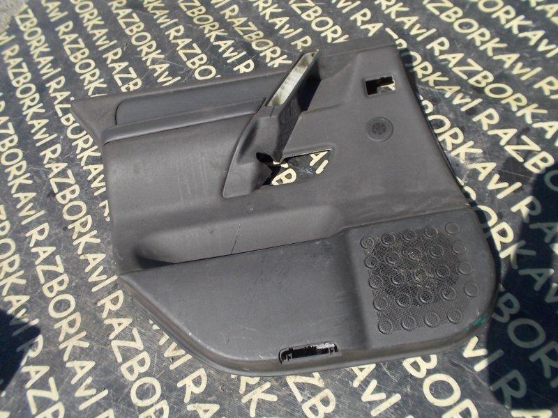 Обшивка дверей Infiniti Qx56 JA60 VK56DE задняя левая