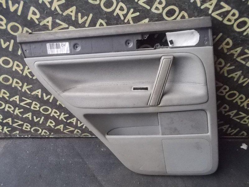 Обшивка дверей Volkswagen Touareg 7LA AXQ задняя левая