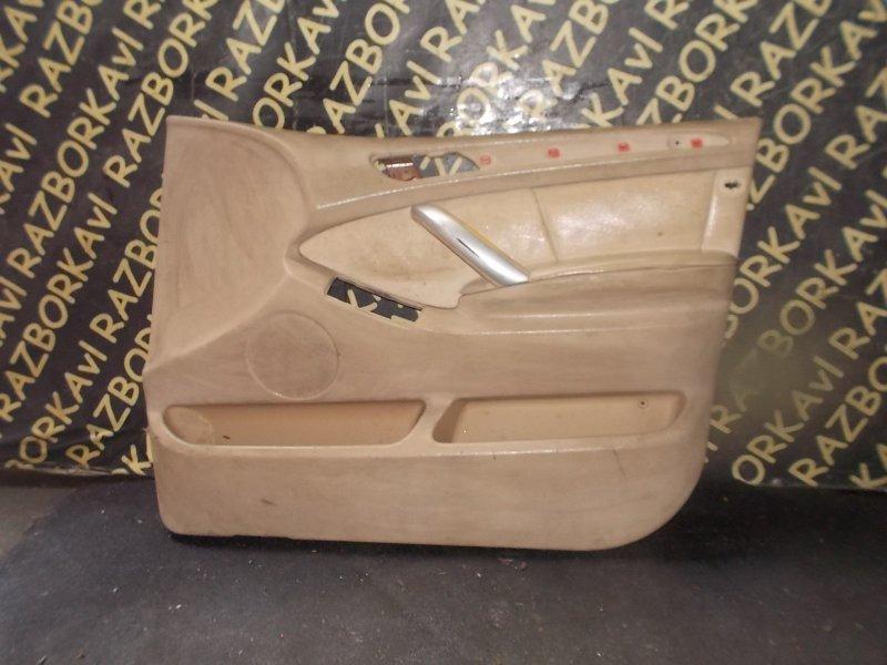 Обшивка дверей Bmw X5 E53 M54 2000 передняя правая