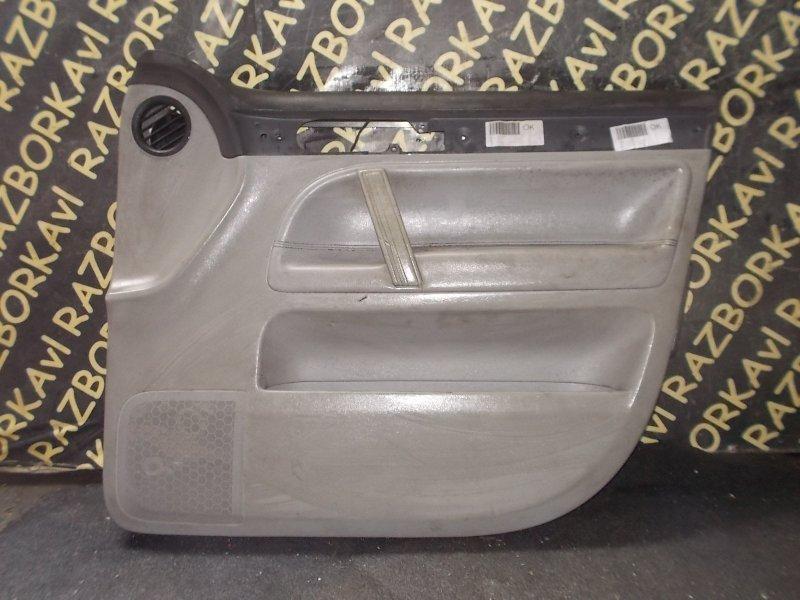 Обшивка дверей Volkswagen Touareg 7LA AXQ передняя правая