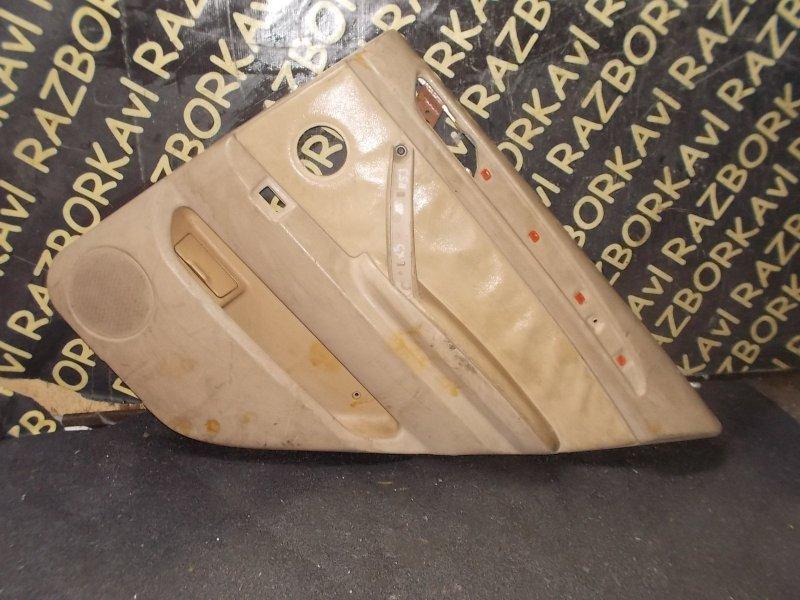 Обшивка дверей Bmw X5 E53 M54 2000 задняя правая