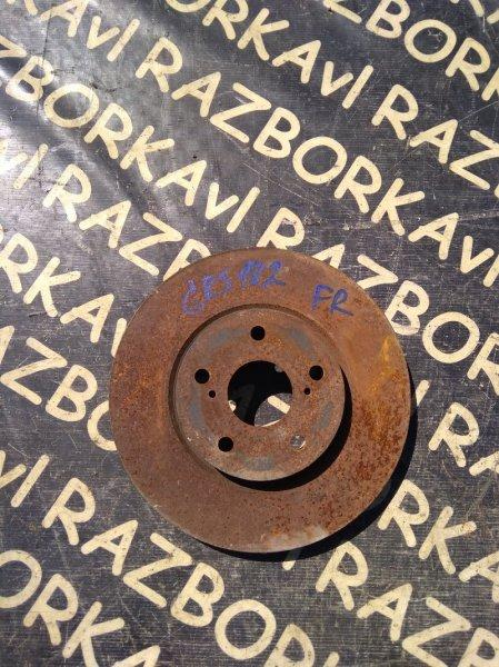 Тормозной диск Toyota Crown GRS182 3GR передний левый