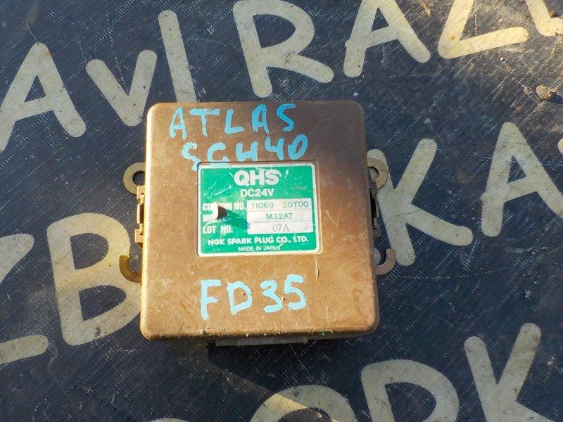 Блок управления св. накала Nissan Atlas SGH40 FD35