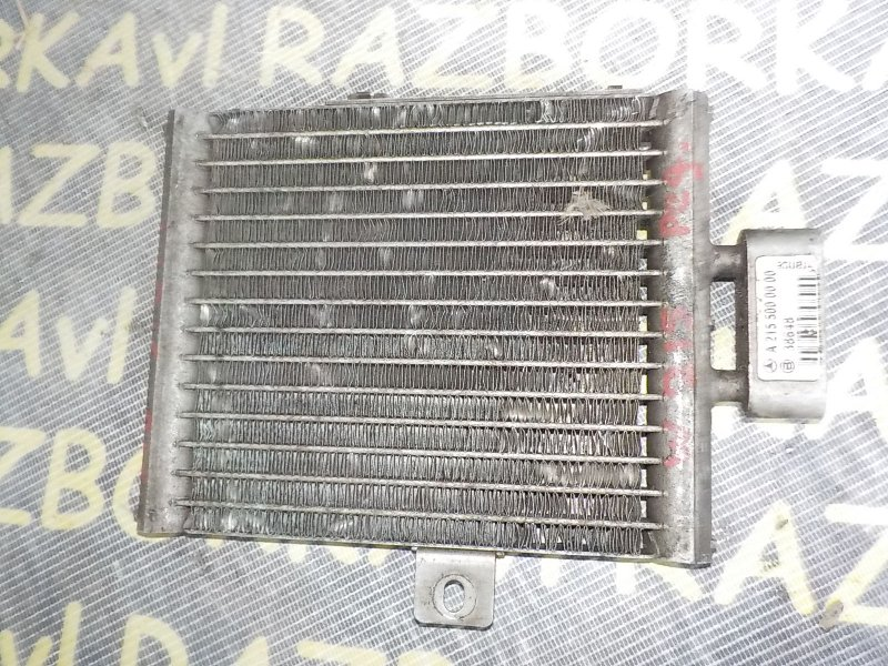 Радиатор масляный Mercedes Benz Cl-Class W215 137970 1999