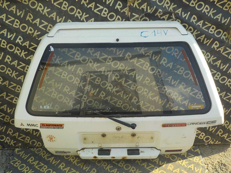 Дверь задняя Mitsubishi Lancer C14V 4D65 задняя