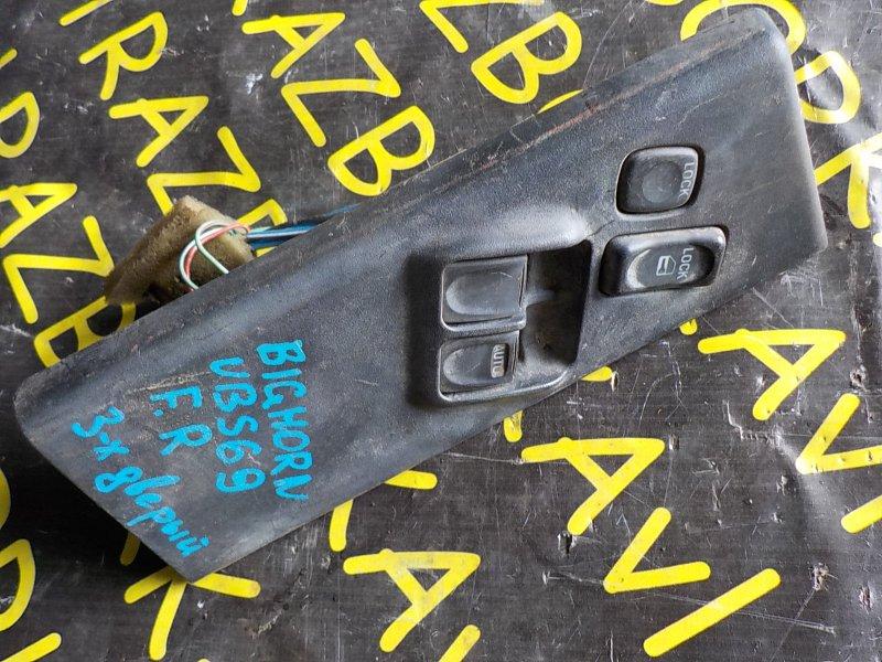 Пульт стеклоподъемника Isuzu Bighorn UBS69 передний правый