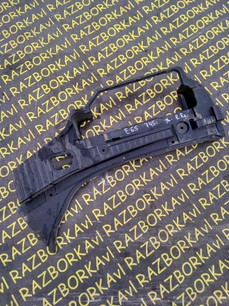 Обшивка багажника Bmw 745 E65 задняя правая