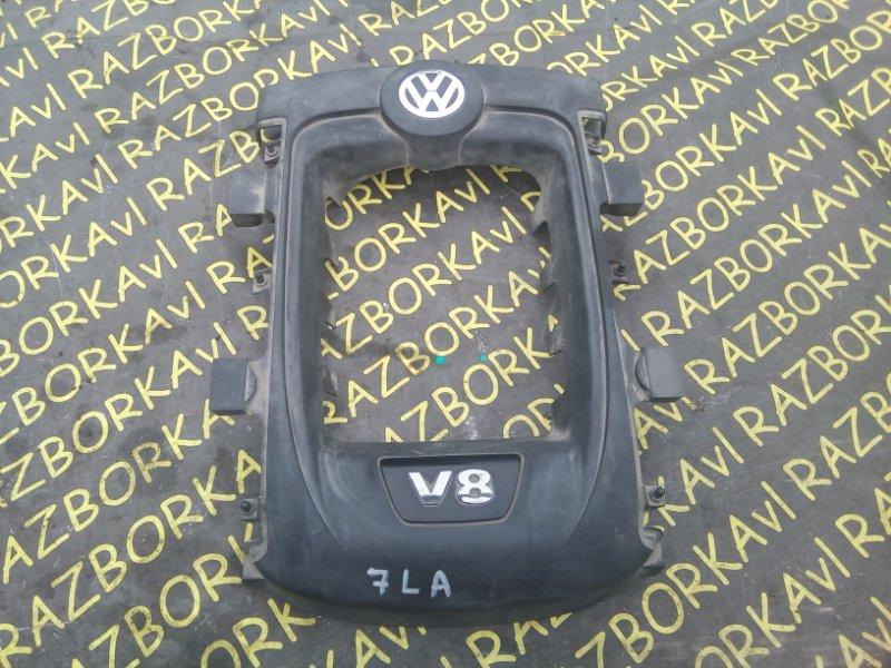 Крышка двс декоративная Volkswagen Touareg 7LA