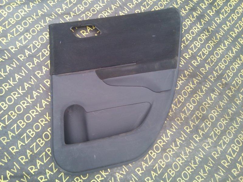 Обшивка дверей Honda Edix BE3 задняя правая